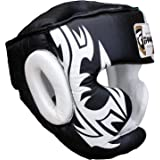FARABI Boxe Capo Guardia del Casco protettore di addestramento di MMA PRO Full Face, Protezione guancia Copricapo Vera…