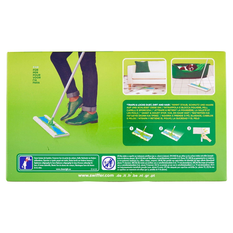 Swiffer Dry Ricarica 16 Panni Maxi Catturapolvere