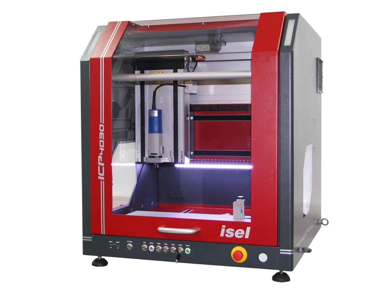 isel ICP4030 XYZ CNC Fräsmaschine, Tischfräse, inkl. Steuerung, Fräsmotor, Längenmesstaster, Arbeitsraumbeleuchtung und…