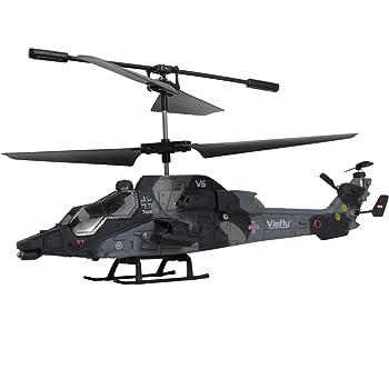 Amewi 25094 - Eurocopter Tiger, Elicottero radiocomandato a 3 canali con giroscopio