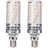E14 LED Blé Ampoules 16W Équivalent à 120W Ampoules halogènes, Blanc chaud 2700K, E14 Économie d'énergie Ampoule, sans scinti