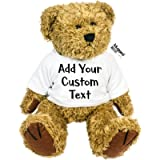 Custom Text Personalised Create Your Own Teddy Bear Personalise Ted Soft Toy Any Text