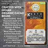 Nepenthe Coffee and Chocolates The Keto Sugar-Free Unsweetened Hazelnut Dark Chocolate, 60 g