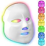 obqo 7 kleuren LED gezicht licht therapie masker-rood blauw licht foton huid verjonging gezicht huid zorg apparaat voor thuis