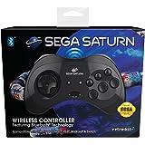 Retrobit - Sega Saturn Manette 8 boutons sans fil Bluetooth - Compatible Switch/PC/Mac/Steam/Raspberry Pi/Android/PS3 - Editi