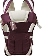 My Newborn Original -4 Way Carrying Position Baby Carrier (Brown)