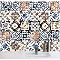 Wall Art (Confezione 24 Pezzi) Adesivi Per Piastrelle Formato 20x20 Cm    Made In