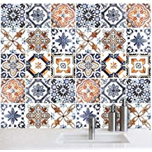 Vinilos cocina azulejos for Piastrelle cucina fantasia
