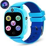 PROGRACE Kids Smart Watch Digital Camera Watch with Games, Music Player, Pedometer Step Count, FM Radios, Flashlights…