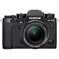 "Fujifilm X-T3 26.1 MP Mirrorless Camera with XF 18-55 mm Lens (APS-C X-Trans CMOS 4 Sensor, X-Processor 4, EVF, 3"" Tilt…"