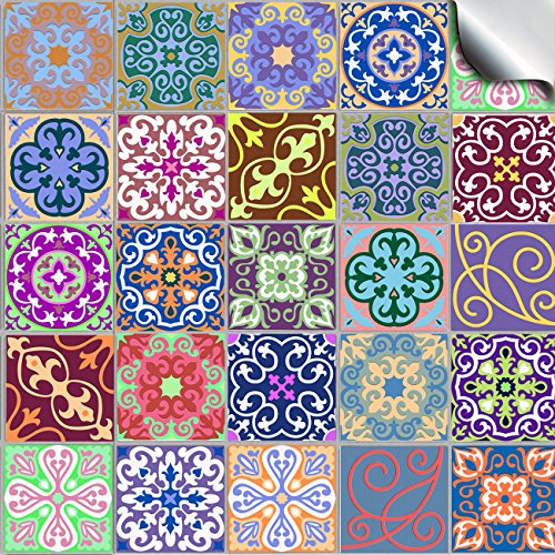 6-pack-of-24-various-traditional-wall-tile-stickers-for-150mm-6-inch-square-tiles-tp-58-realistic-lo