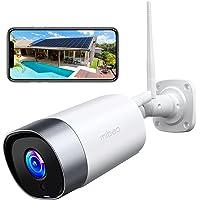 Mibao Visione Notturna super telecamera wifi esterno, Telecamera di Sicurezza con Rilevazione Movimento Telecamera WiFi…