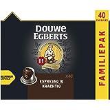 Douwe Egberts Koffiecups Espresso Krachtig Voordeelverpakking (200 Capsules, Geschikt voor Nespresso* Koffiemachines, Intensi