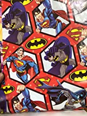 Krishna Creations Big Spiderman Printed Gift Wrapping Paper Along With Gift Tags Pack of 10