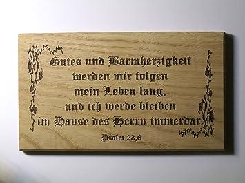 Geschenk Sprüche Kommunion Konfirmation  Gutes Und Barmherzigkeit   Altdeutsch