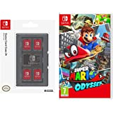 Super Mario Odyssey + HORI Switch Game Card Case - Black (Nintendo Switch)