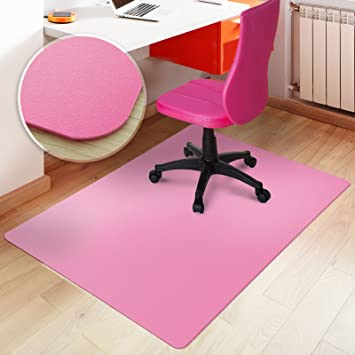 etm office chair mat pink floor protection 75x120cm 25u0027x4
