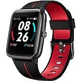 LIFEBEE Smartwatch, Orologio Fitness Uomo Donna con GPS, Smart Watch con previsioni del Tempo, Cardiofrequenzimetro da Polso