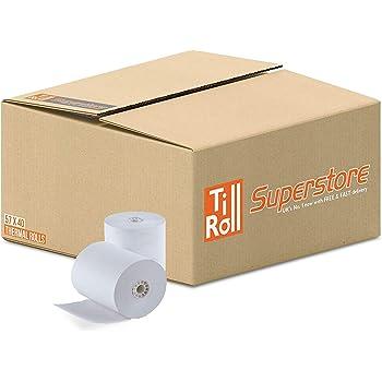 57x70mm Thermal Paper Till Rolls 100 rolls