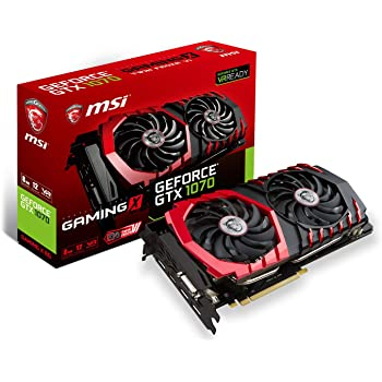 Carte Graphique MSI GeForce GTX 1070 Gaming X