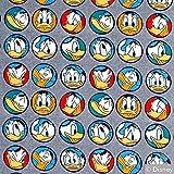 Stoff Baumwolljersey Disney Donald Duck Kreise 50cm x 160cm