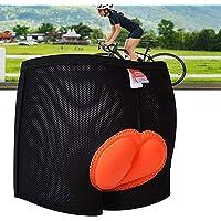 INMOZATA Padded Cycling Shorts Women 3D Gel Padded Cycling Underwear Shorts Womens Bicycle Bike Cycling Shorts Anti-Slip…