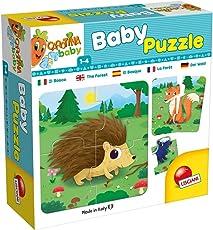 Lisciani Giochi - Carotina Baby Puzzle il Bosco, 65417.0