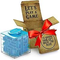 AGREATLIFE Boite à Cadeaux Money Maze | Cube Tirelire Et Casse-tête | Idée Cadeau Original pour Garçon Et Fille | Kit De…