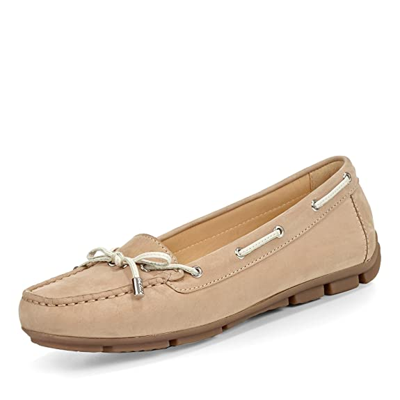 Loafers D Chaussures Geox A geox Amazon Femme mocassins Arethea n6pgwqPaxB