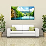 999Store Framed Ready to Hang Multiple Frames Printed Mountain Shadow Art Panels Like Painting - 5 Frames
