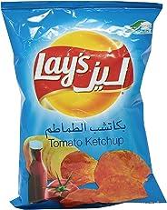 Lay's Tomato Ketchup Chips - 40 gm