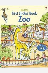 First Sticker Zoo (Usborne First Sticker Books): 1 Paperback