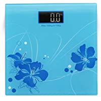 Figment Electronic Thick Tempered Glass & LCD Display Digital Personal Bathroom Weight Weighing Scales For Body Weight, Weight Scale Digital For Human Body, Weight Machine For Body Weight (Multi)