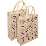 Mistazzo Shopping Bag Eco-Friendly Bag (Pack of 4 Bags)