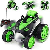 JIZUKA® Remote Control Car RC Stunt Vehicle 360° Rotating Rolling Radio Control Electric Race Car Boys Toys Kids…