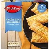 Birds Eye 4 Homebake Sausage Rolls, 360g (Frozen)