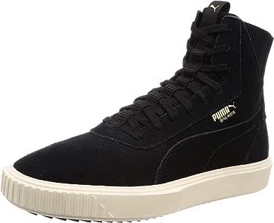 Puma Breaker Hi Evolution Sneaker Black Whisper White 10