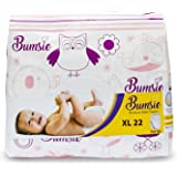 Bumsie Pant Style Baby Diapers (XL, 12.5-16 Kgs) - Pack of 22