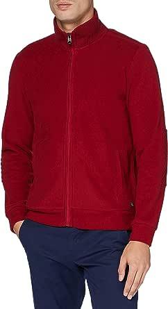 Pierre Cardin Men's Sweatjacke Brushed Rib Sweatshirt