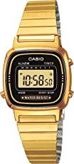 Casio Collection Damen Retro Armbanduhr LA670WEGA