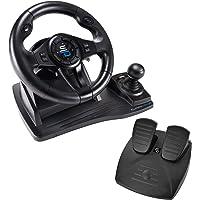 Superdrive - Rennlenkrad GS550 Racing Wheel lenkräd mit Pedalen, paddels, Schalthebel und Vibration für Xbox Serie X/S…