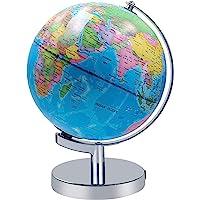 Beleuchtet Welt Globus 2 in 1 Globus Erde und Konstellationen Eingebaute LED für beleuchtete Nachtansicht, 8 Zoll…
