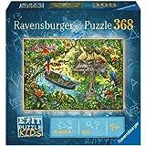 Ravensburger EXIT Puzzle Kids 12924 – The Djungelexpedition – 368 delar för barn från 9 år