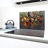 QTA | Plaque de protection universelle pour plaque de cuisson 80 x 52 cm 1 piece Pour plaques de cuisson Protection contre le