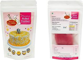 Sugar Alchemy Premium Rolled Fondant or Sugar Paste - 150g (Red Plus)