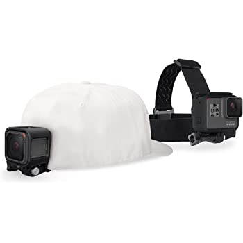 GoPro Head Strap and Quick Clip (Official GoPro Accessory)