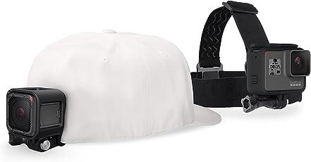 GoPro Kopfband Plus Quick-Clip (geeignet für alle GoPro Kameras)