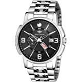 EDDY HAGER Time Teacher Black Dial Men's Watch