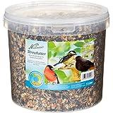 Dehner Natura Wildvogelfutter, Streufutter im Eimer, 3 kg