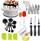 DEETTO Cake Turntable Combo Bakeware Set of 1 , Multicolour